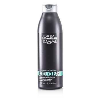 L'Oreal Shampoo Professionnel Homme Cool Clear Anti-Schuppen   250ml/8.45oz