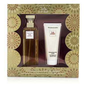 Elizabeth Arden 5th Avenue Coffret: parfemska voda u spreju 125ml/4.2oz + losion za tuširanje 100ml/3.3oz  2pcs