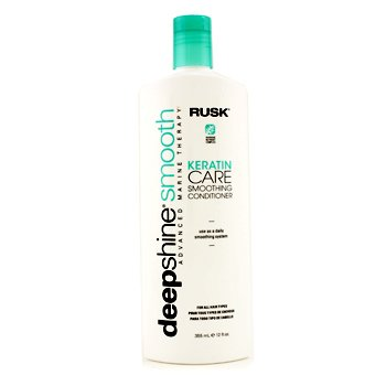 Rusk Deepshine Smooth Keratin Care silendav palsam  355ml/12oz