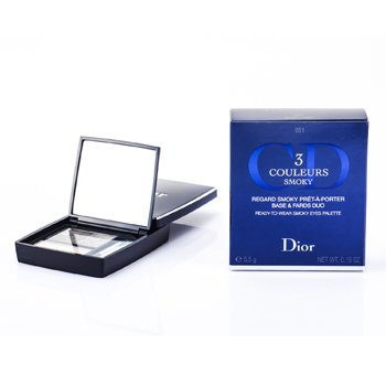 Christian Dior 3 Couleurs Smoky Ready To Wear Paleta Ojos - # 051 Smoky Pink  5.5g/0.19oz