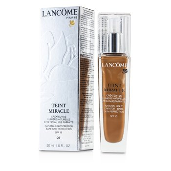Lancome Teint Miracle Natural Iluminador Compacto SPF 15 - # 06 Beige Cannelle  30ml/1oz