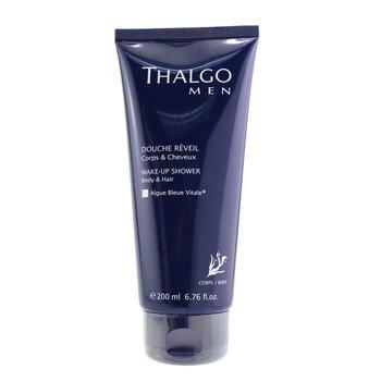 Thalgo Thalgomen Gel de Duş Înviorant - Păr şi Corp  200ml/6.7oz