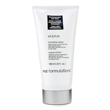 MD Formulations Mascarilla Iluminadora Vit-A-Plus ( Tamaño Salón )  180ml/6oz