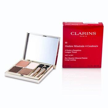 Clarins Eye Quartet Mineral Palette - # 03 Rosewood  5.8g/0.2oz