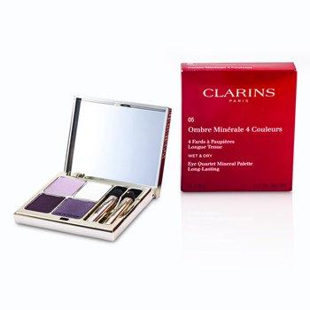 Clarins Paleta 4 Sombras de Ojos Minerales - # 05 Violet  5.8g/0.2oz