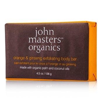 John Masters Organics Baton Exfoliant de Corp cu Portocală şi Ginseng  128g/4.5oz