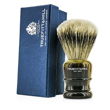 Truefitt & Hill Wellington Super Badger Shave Brush - # Faux Horn  1pc