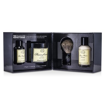 The Art Of Shaving The 4 Elements Afeitado Perfecto - Inoloro (Embalaje Nuevo ) ( Aceite Pre-Afeitado + Crema Afeitado + Bálsamo A/S + Brocha )  4pcs