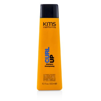 KMS California Curl Up Shampoo (Curl Support & Elasticity)  300ml/10.1oz