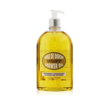 L'Occitane Almond Cleansing & Soothing Shower Oil  500ml/16.7oz