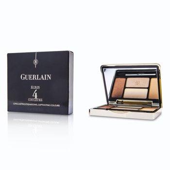 Guerlain Paleta czterech cieni do powiek Ecrin 4 Couleurs Long Lasting Eyeshadow - #07 Les Cuirs  7.2g/0.25oz