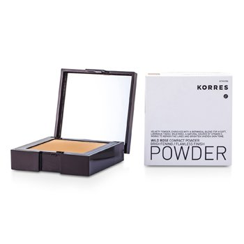 Korres Wild Rose Brightening Flawless Finish Compact Powder - WRP7 (Bronze)  10g/0.35oz