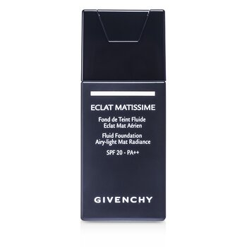 Givenchy Base Eclat Matissime Fluid Foundation SPF 20 - # 3 Mat Sand  30ml/1oz