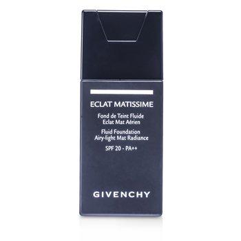 Givenchy Eclat Matissime Fluid Foundation SPF 20 - # 4 Mat Beige  30ml/1oz