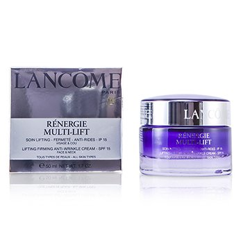 Lancome Renergie Multi-Lift Lifting Firming Anti-Wrinkle Cream SPF 15 (For All Skin Types)  50ml/1.7oz