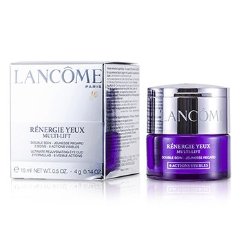 Lancome Renergie Multi-Lift Ultimate Rejuvenating Eye Duo: Cream + Veil  2pcs