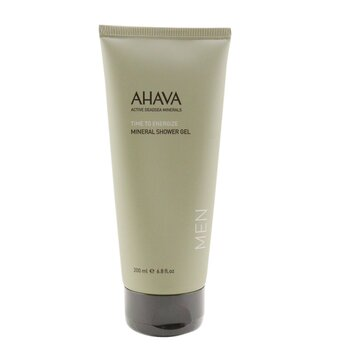 Ahava Time To Energize Gel Mandi Mineral  200ml/6.8oz