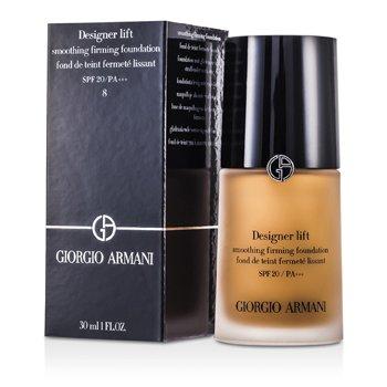 Giorgio Armani Designer Lift Smoothing Base Maquillaje Reafirmante SPF20 - # 8  30ml/1oz