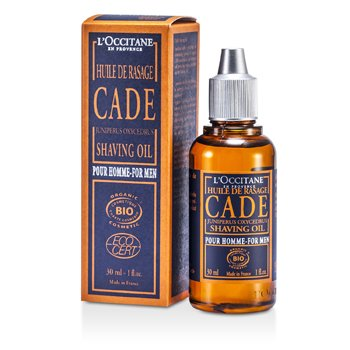 L'Occitane Cade For Men Aceite Afeitado  30ml/1oz
