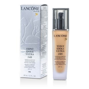 Lancome Teint Idole Ultra 24H Wear & Comfort Foundation SPF 15 - # 045 Sable Beige  30ml/1oz