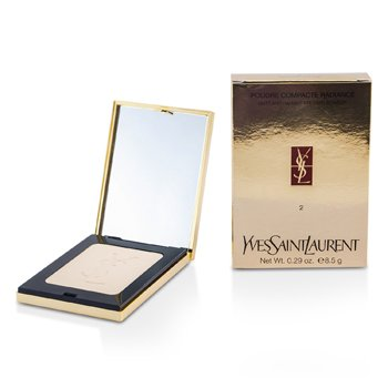 Yves Saint Laurent Poudre Compacte Radiance Matt & Radiant Pressed Powder - # 02 Pink Sand  8.5g/0.29oz