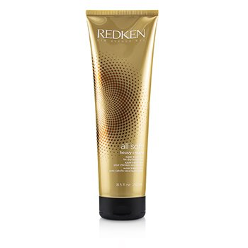 Redken Creme All Soft Heavy Cream - Cabelo seco e rebelde (Interlock Protein Network)  250ml/8.4oz