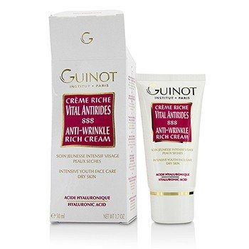 Guinot Anti-Wrinkle Rich Cream - For Dry Skin (Box Slightly Damaged)  50ml/1.7oz