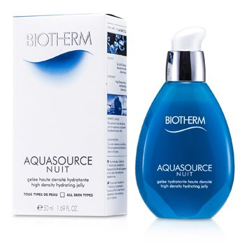 Biotherm Aquasource Nuit High Density Hydrating Jelly (Para Todos os Tipos de Pele)  50ml/1.69oz