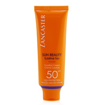 Lancaster Sun Beauty Comfort Touch Cream Gentle Tan SPF 50  50ml/1.7oz