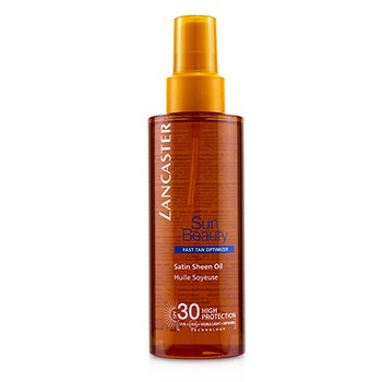 Lancaster Sun Beauty Satin Sheen Oil Fast Tan Optimizer SPF30  150ml/5oz