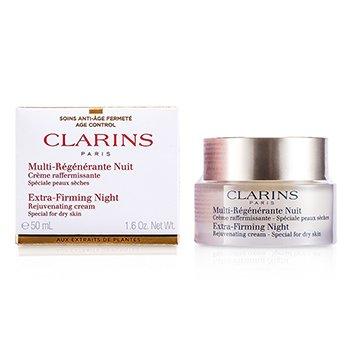 Clarins Crema Extra reafirmante Antiarrugas de Noche - Especial Para Piel Seca  50ml/1.6oz