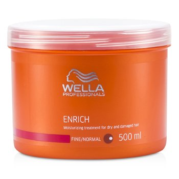Wella Enrich Moisturizing Treatment For Dry & Damaged Hair (Fine/Normal)  500ml/16.7oz