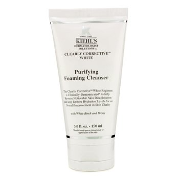 Kiehl's Clearly Corrective White Purifying Foaming Cleanser  150ml/5oz