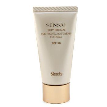 Kanebo Sensai Silky Bronze Sun Protective Cream For Face SPF 50  50ml/1.7oz