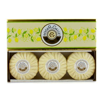 Roge & Gallet Cedrat (Citron) Perfumed Soap Coffret  3x100g/3.5oz