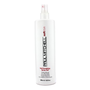 Paul Mitchell Soft Style Soft Sculpting Flexible viimistlusgeel  500ml/16.9oz
