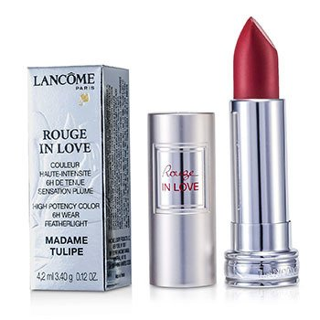Lancome Rouge In Love Lipstick - # 156B Madame Tulipe  4.2ml/0.12oz