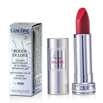 Lancôme Batom Rouge In Love Lipstick - # 185N Rouge Valentine  4.2ml/0.12oz