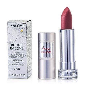 Lancôme Batom Rouge In Love Lipstick - # 277N Violine Lamee  4.2ml/0.12oz