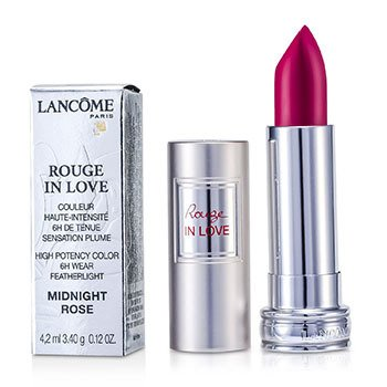 Lancome Rouge In Love Lipstick - # 377N Midnight Rose  4.2ml/0.12oz