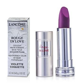Lancôme Batom Rouge In Love Lipstick - # 381B Violette Coquette  4.2ml/0.12oz