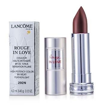 Lancome Rouge In Love Lipstick - # 292N Chez Prune  4.2ml/0.12oz