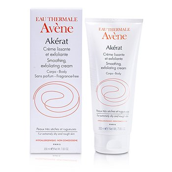 Avene کرم لایه بردار و نرم کننده Akerat (برای پوست های زبر و خشک)  200ml/7.05oz