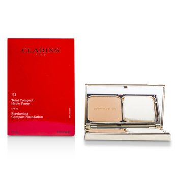 Clarins Everlasting Base Maquillaje Compacta SPF 15 - # 112 Amber  10g/0.35oz