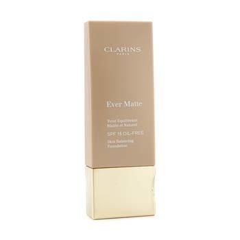 Clarins Ever Matte Skin Balancing Base de Maquillaje libre de Aceite SPF 15 - # 112 Amber  30ml/1.1oz