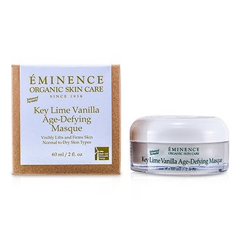 Eminence Key Lime Vanilla Age-Defying Mascarilla Antienvejecimiento (Piel normal a Seca)  60ml/2oz