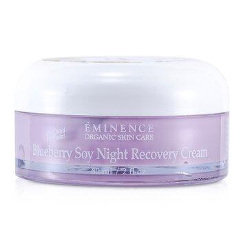 Eminence Blueberry Soy Night Recovery Cream  60ml/2oz