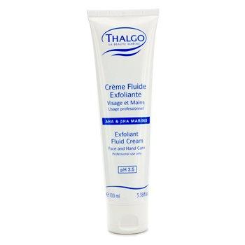 Thalgo Exfoliant Fluid Cream with  AHA & BHA (Face & Hand Care) (Salon Size)  100ml/3.38oz