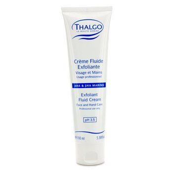 Thalgo Crema Fluida Exfoliante con  AHA & BHA (Crema Rostro y Manos) (Tama�o Sal�n)  100ml/3.38oz
