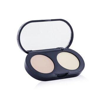 Bobbi Brown ست کرم های پوشاننده لک و عیوب پوست - کرم پوشاننده تیرگی و لک با رنگ روشن + پودر فشرده آرایشی  3.1g/0.11oz